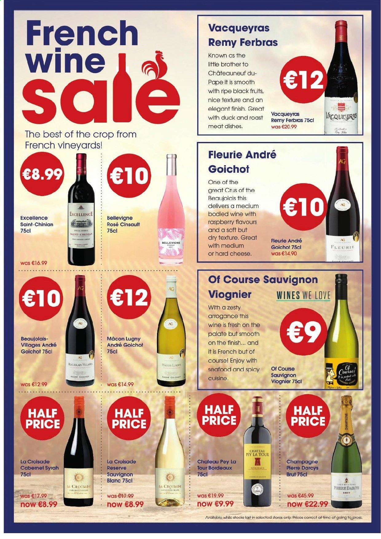 Centra offer  - 2.5.2019 - 15.5.2019 - Sales products - brother, duck, champagne, cheese, crop, seafood, wine. Page 11.
