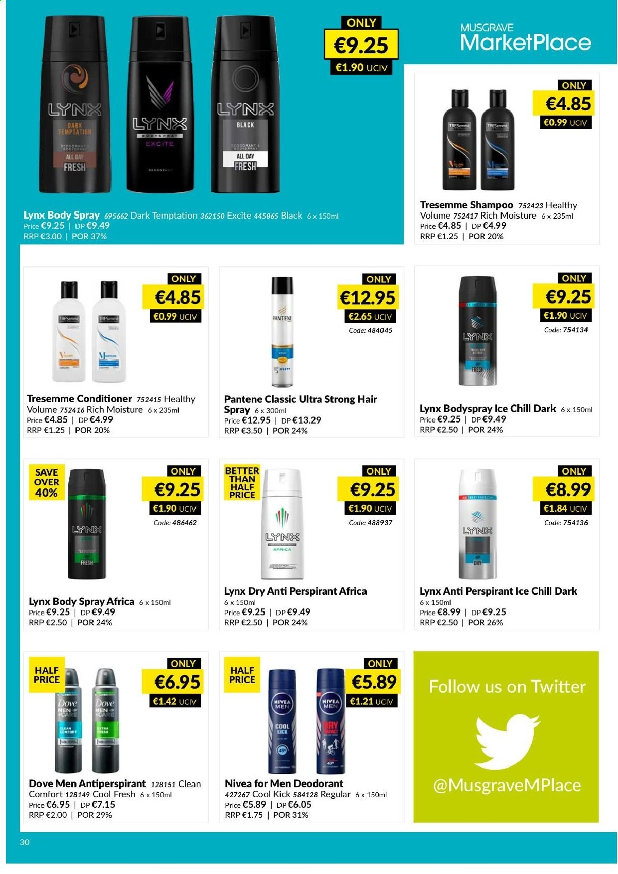 MUSGRAVE Market Place offer  - 12.5.2019 - 8.6.2019 - Sales products - moisture. Page 30.