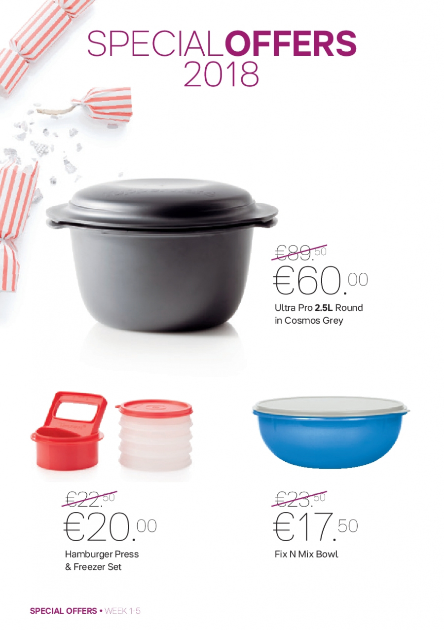 Tupperware offer  - 1.1.2018 - 4.2.2018. Page 2.