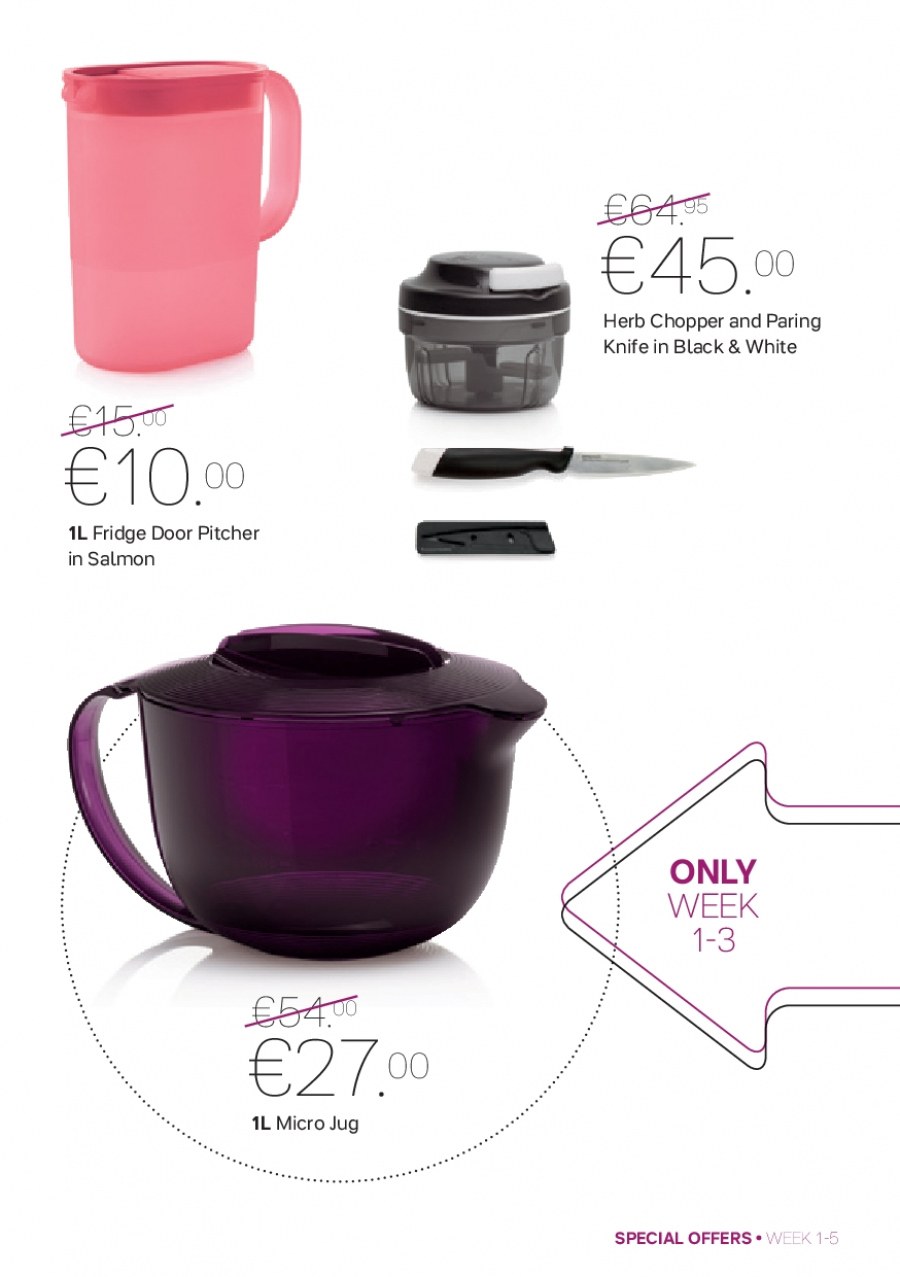 Tupperware offer  - 1.1.2018 - 4.2.2018. Page 5.