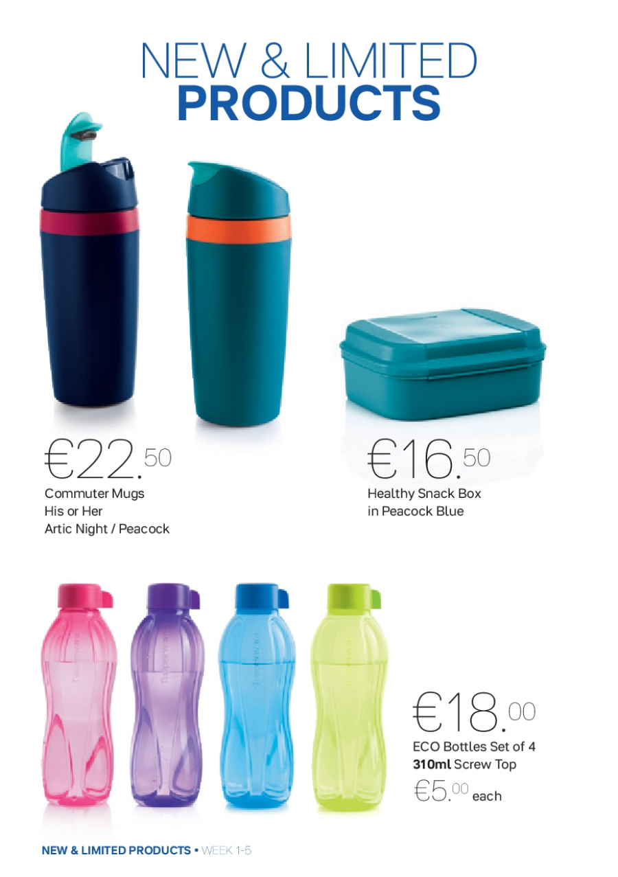 Tupperware offer  - 1.1.2018 - 4.2.2018. Page 6.
