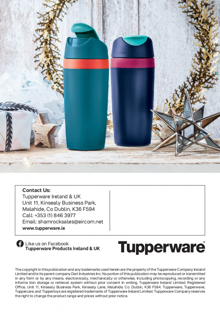 Tupperware offer  - 1.1.2018 - 4.2.2018. Page 12.