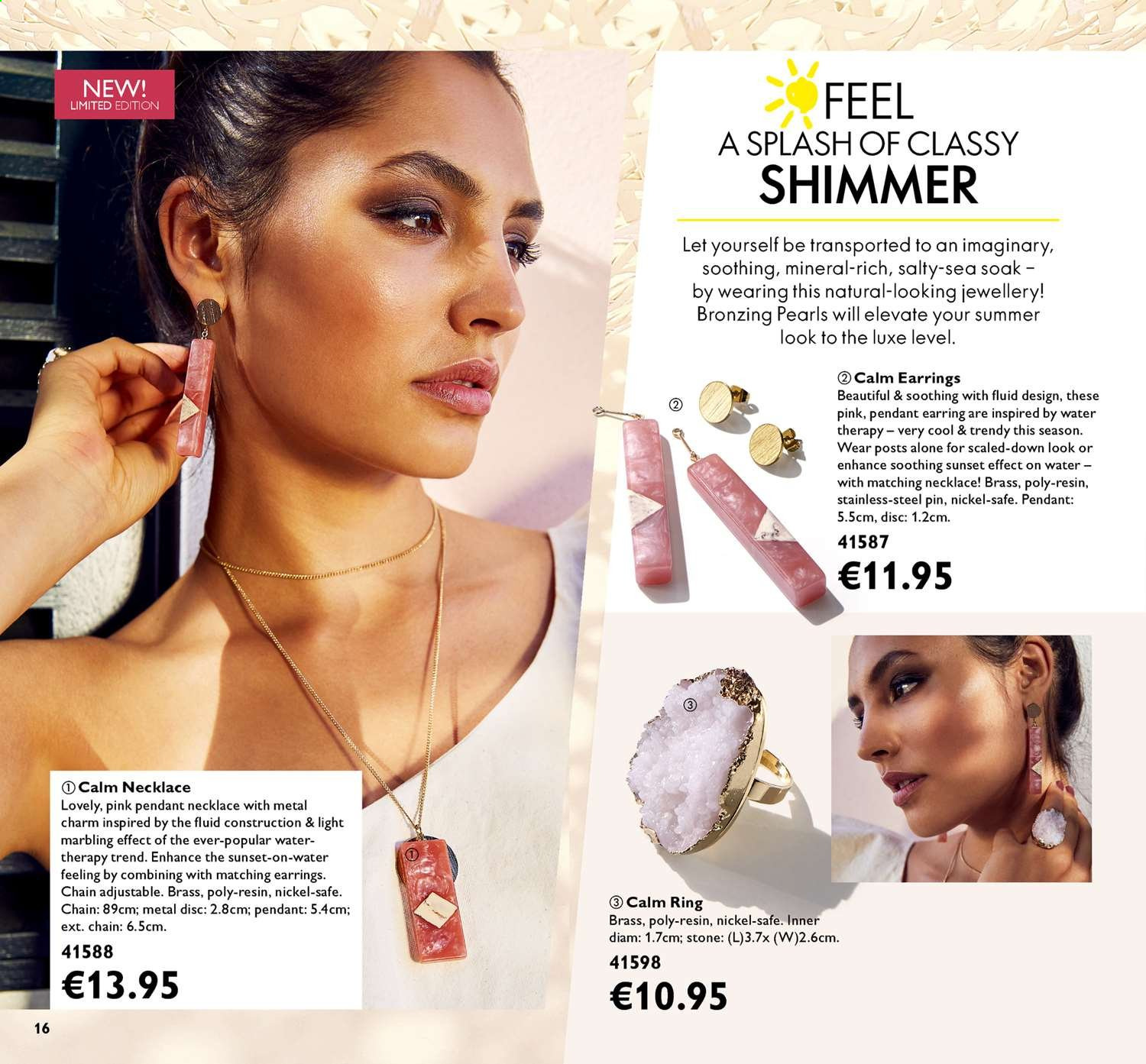 Oriflame offer  - 14.6.2019 - 4.7.2019. Page 16.