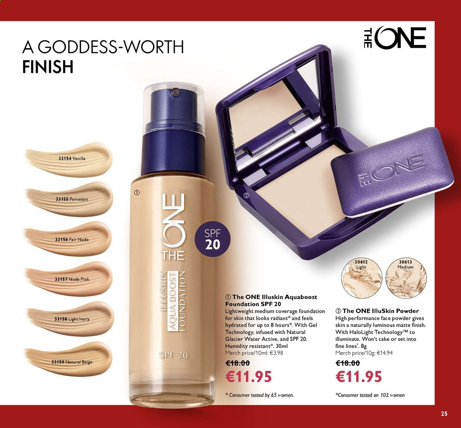 Oriflame offer  - 14.6.2019 - 4.7.2019. Page 25.