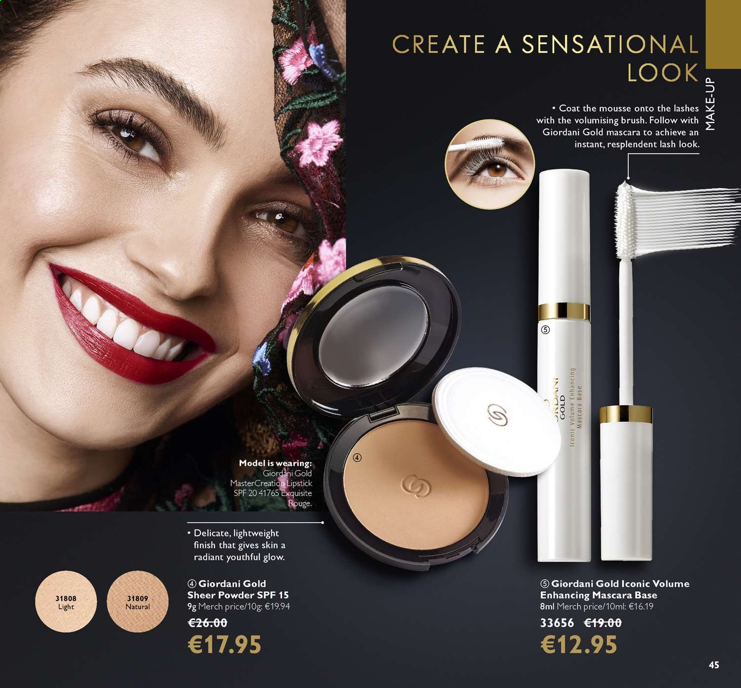 Oriflame offer  - 14.6.2019 - 4.7.2019. Page 45.
