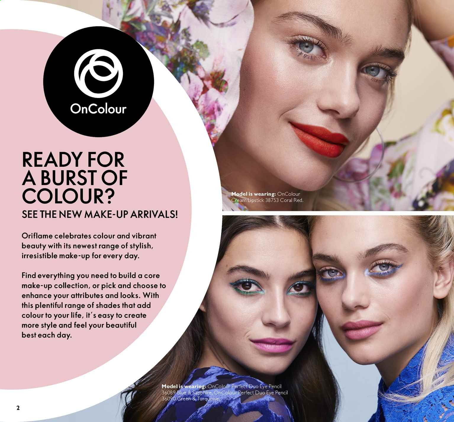 Oriflame offer  - 5.7.2019 - 25.7.2019. Page 2.