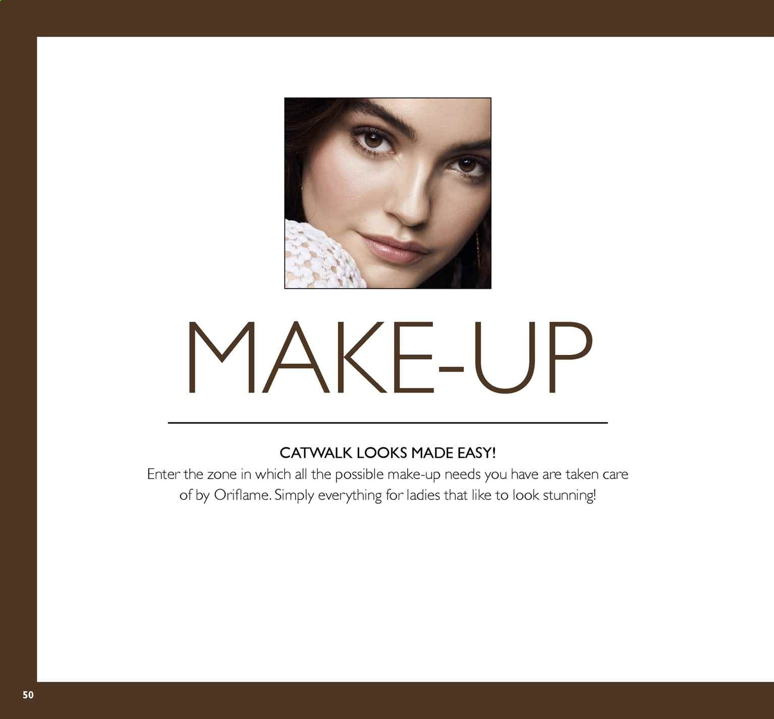 Oriflame offer  - 5.7.2019 - 25.7.2019. Page 50.
