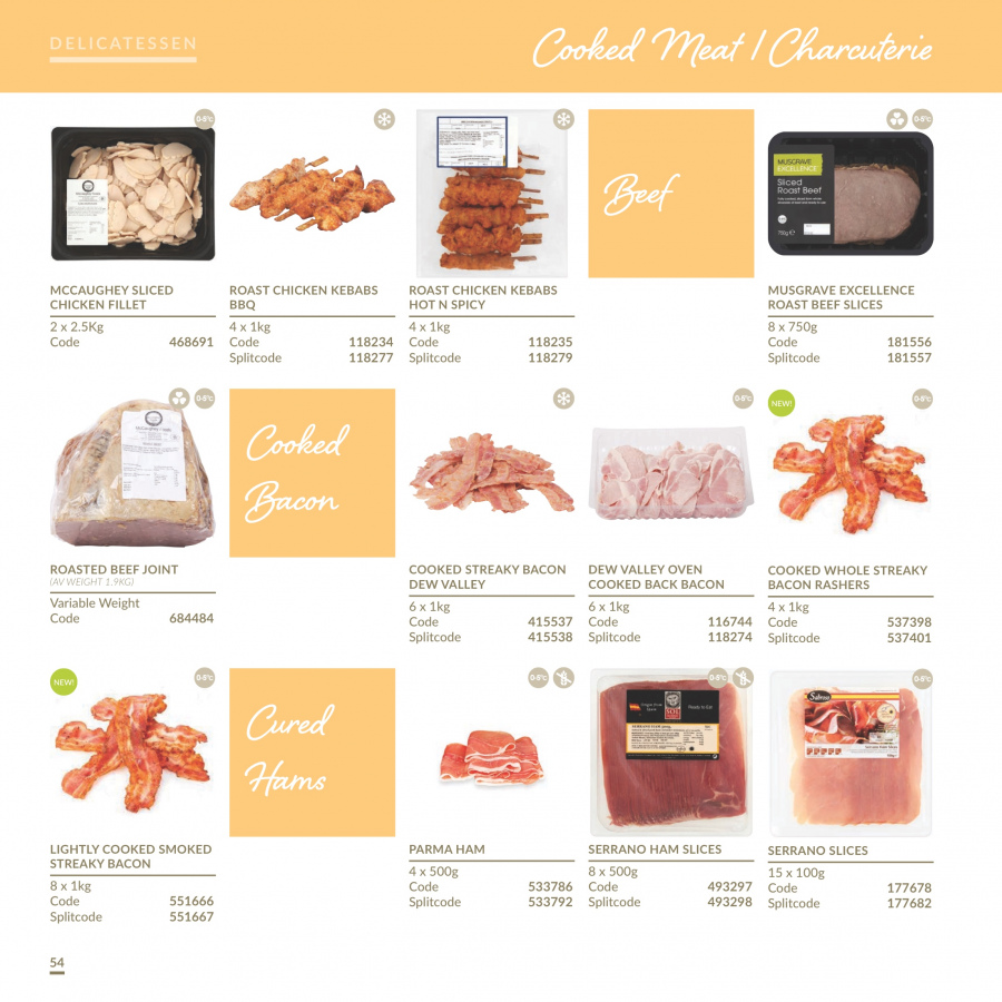 MUSGRAVE Market Place offer  - 1.1.2018 - 31.12.2018 - Sales products - bacon, ham, Beet, chicken, beef meat. Page 55.