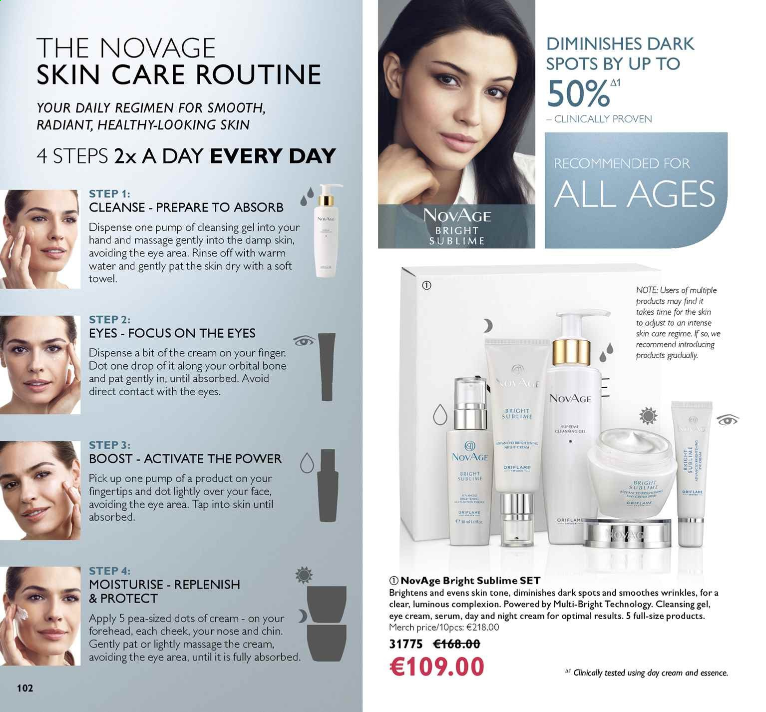 Oriflame offer  - 5.7.2019 - 25.7.2019. Page 102.