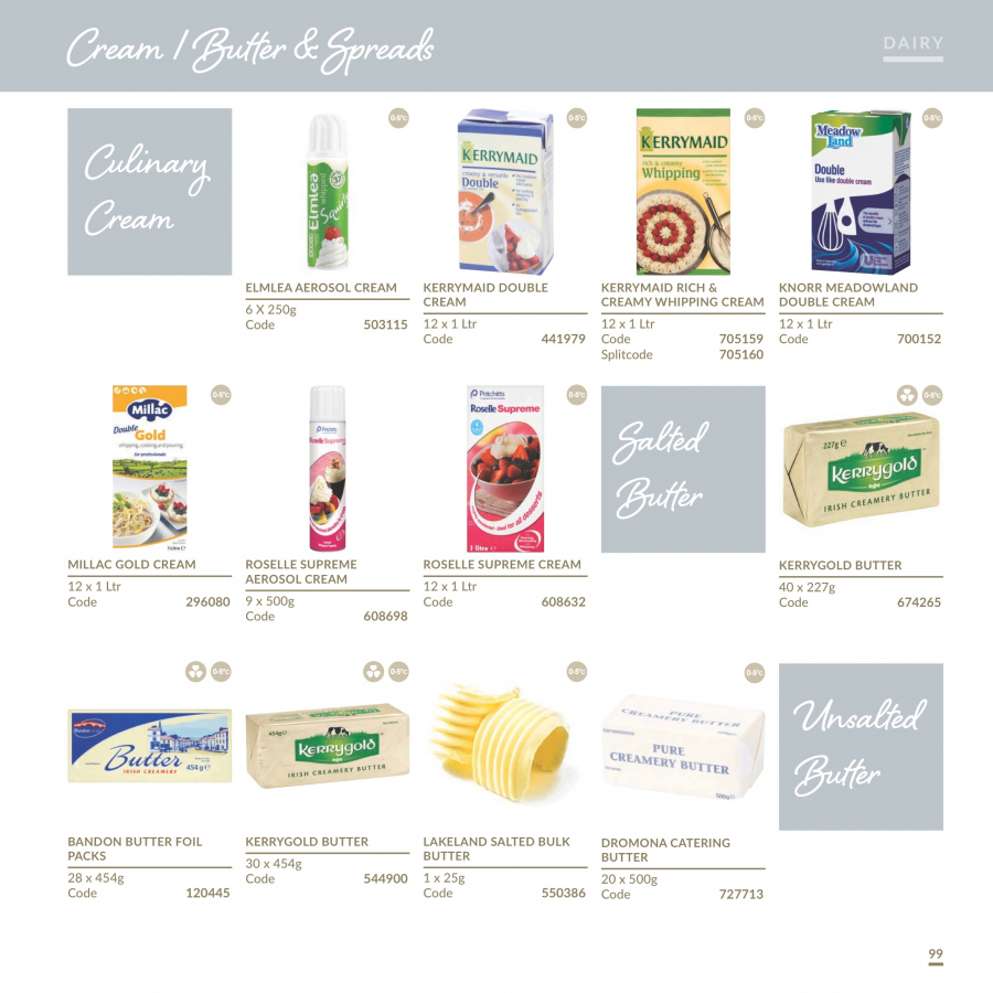 MUSGRAVE Market Place offer  - 1.1.2018 - 31.12.2018 - Sales products - Knorr, butter, whipped cream. Page 100.
