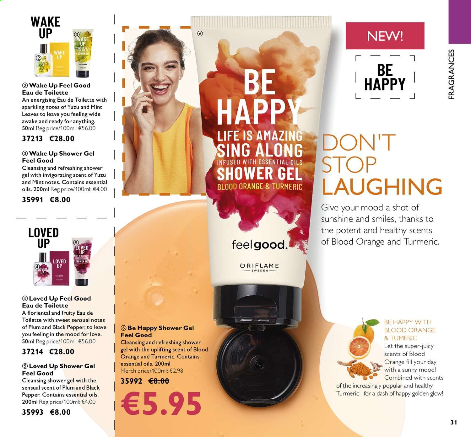 Oriflame offer  - 26.7.2019 - 15.8.2019. Page 31.