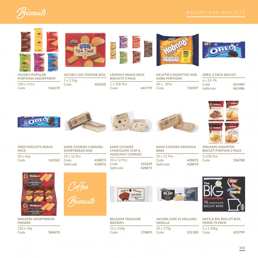 MUSGRAVE Market Place offer  - 1.1.2018 - 31.12.2018 - Sales products - Oreo, cookies, Nestlé, chocolate, snack, granola, caramel, tea, coffee, hob. Page 142.