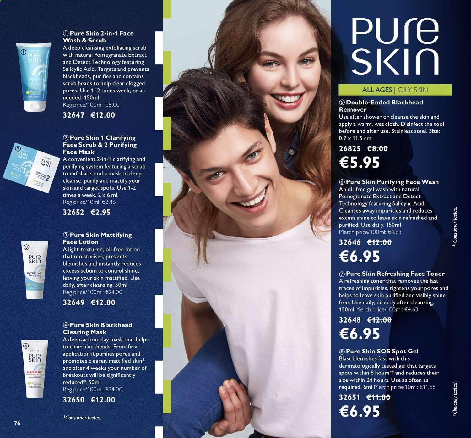 Oriflame offer  - 26.7.2019 - 15.8.2019. Page 76.