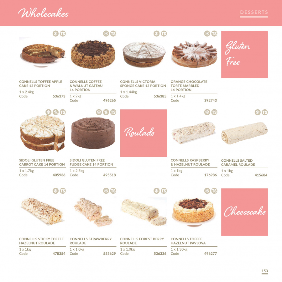 MUSGRAVE Market Place offer  - 1.1.2018 - 31.12.2018 - Sales products - strawberries, orange, sponge cake, cake, Fudge, chocolate, toffee, caramel, coffee. Page 154.
