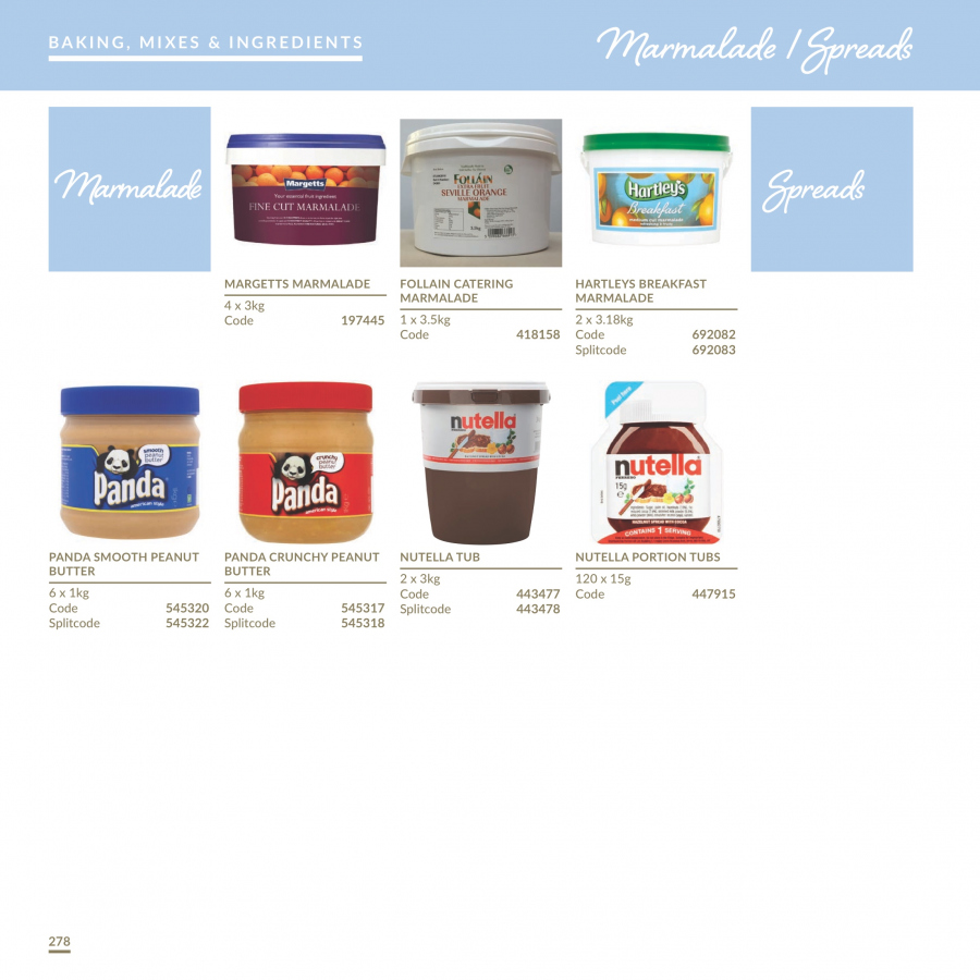 MUSGRAVE Market Place offer  - 1.1.2018 - 31.12.2018 - Sales products - orange, Nutella, peanut butter, tub. Page 278.