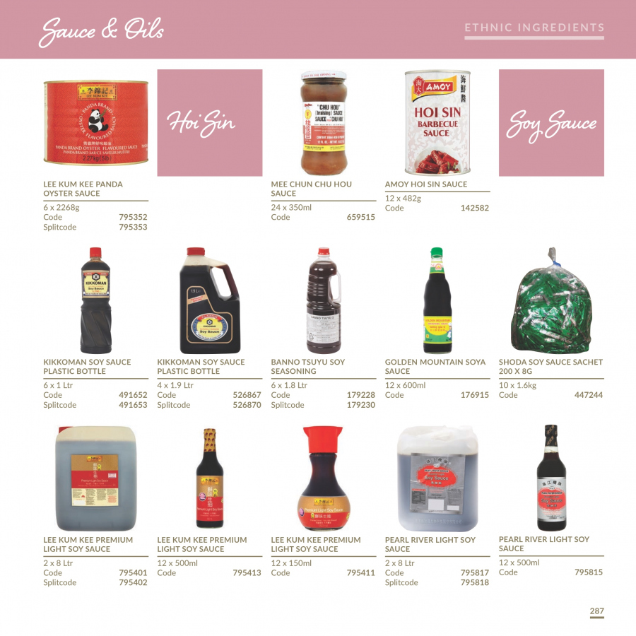 MUSGRAVE Market Place offer  - 1.1.2018 - 31.12.2018 - Sales products - sauce, barbecue sauce, soy sauce, oyster sauce, Kikkoman. Page 287.