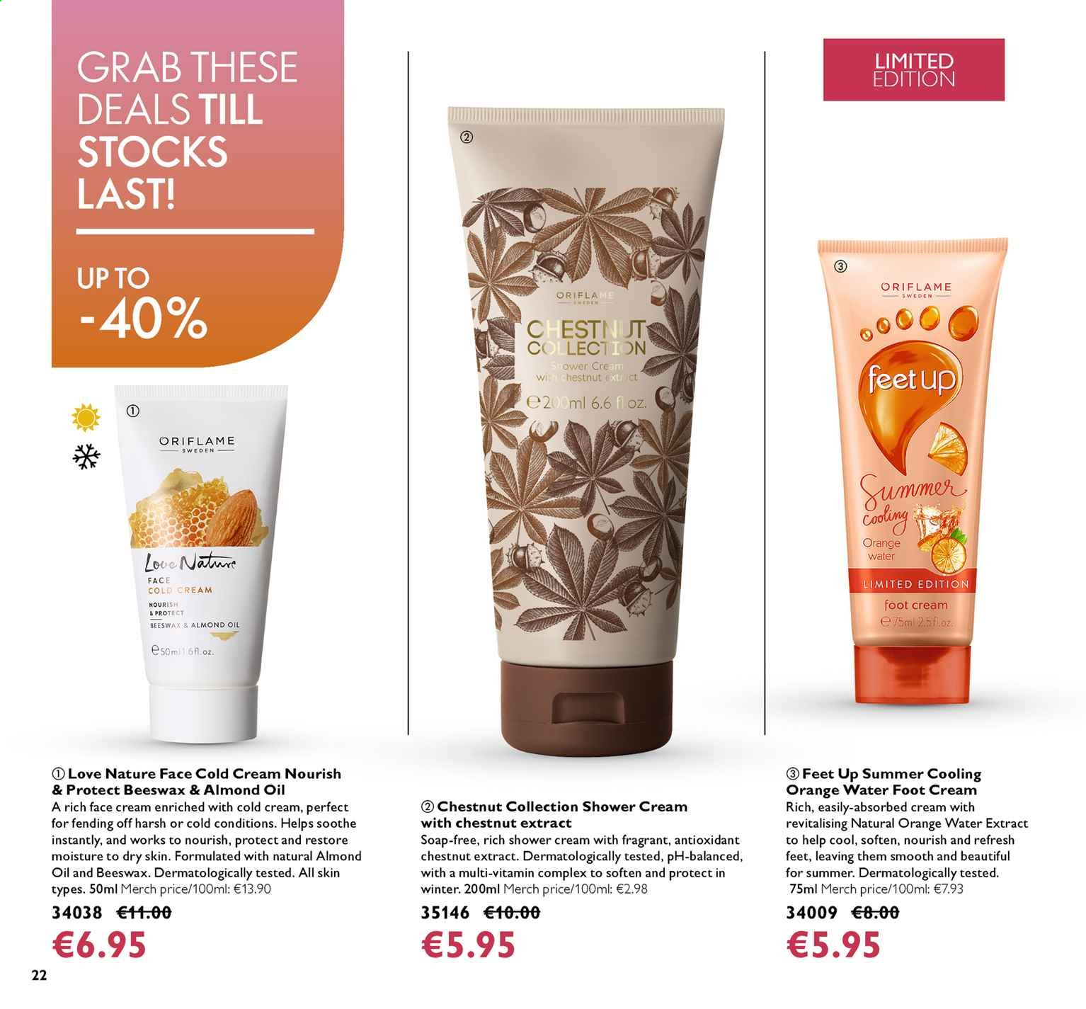 Oriflame offer  - 16.8.2019 - 3.9.2019. Page 22.