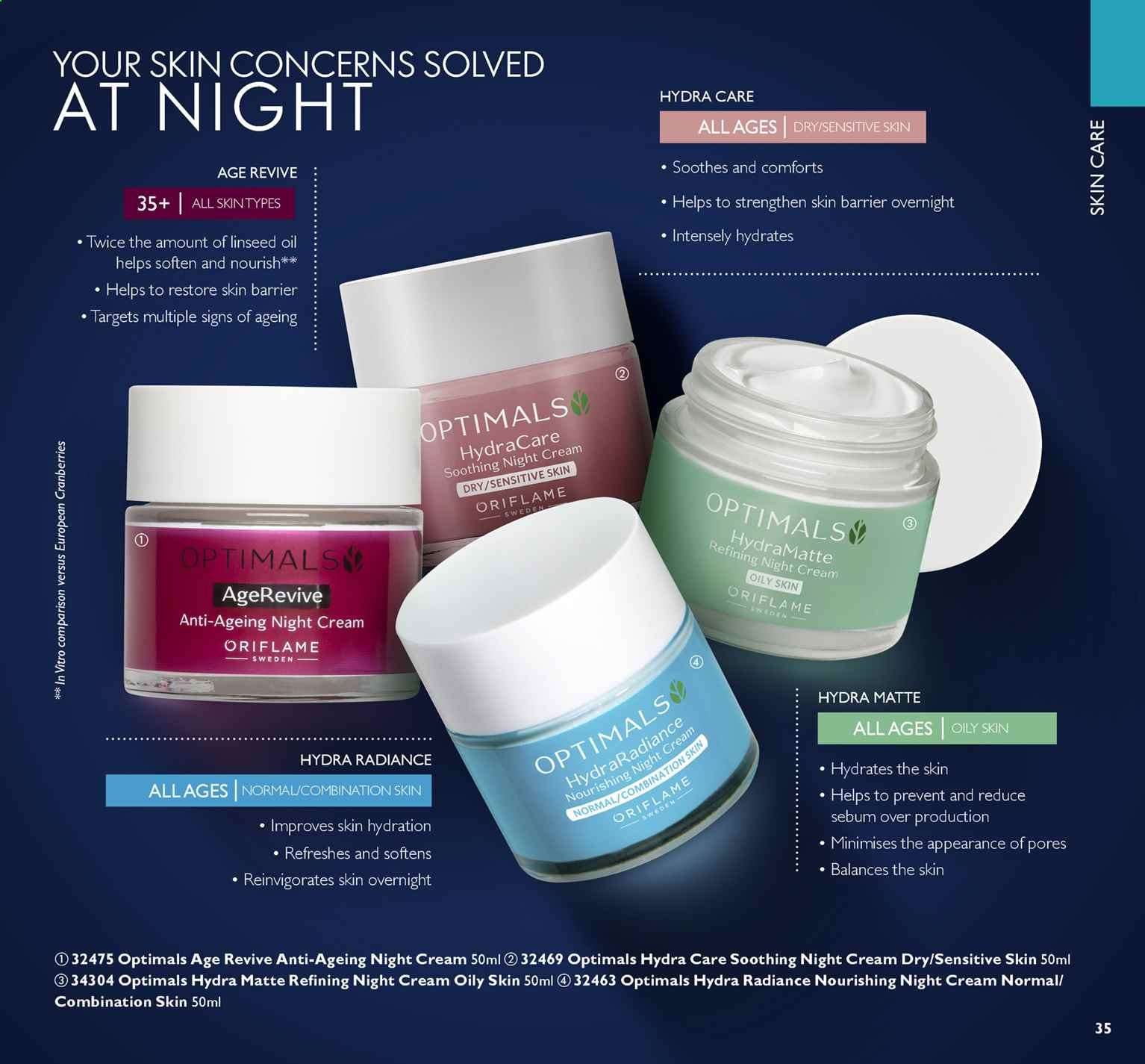 Oriflame offer  - 16.8.2019 - 3.9.2019. Page 35.