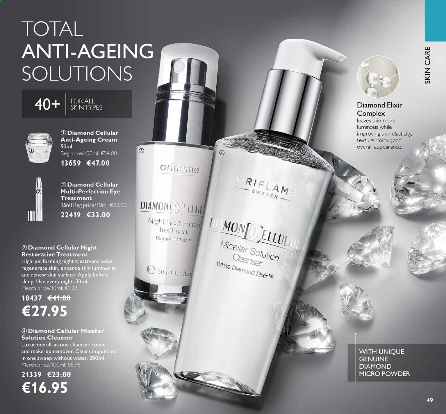 Oriflame offer  - 16.8.2019 - 3.9.2019. Page 49.