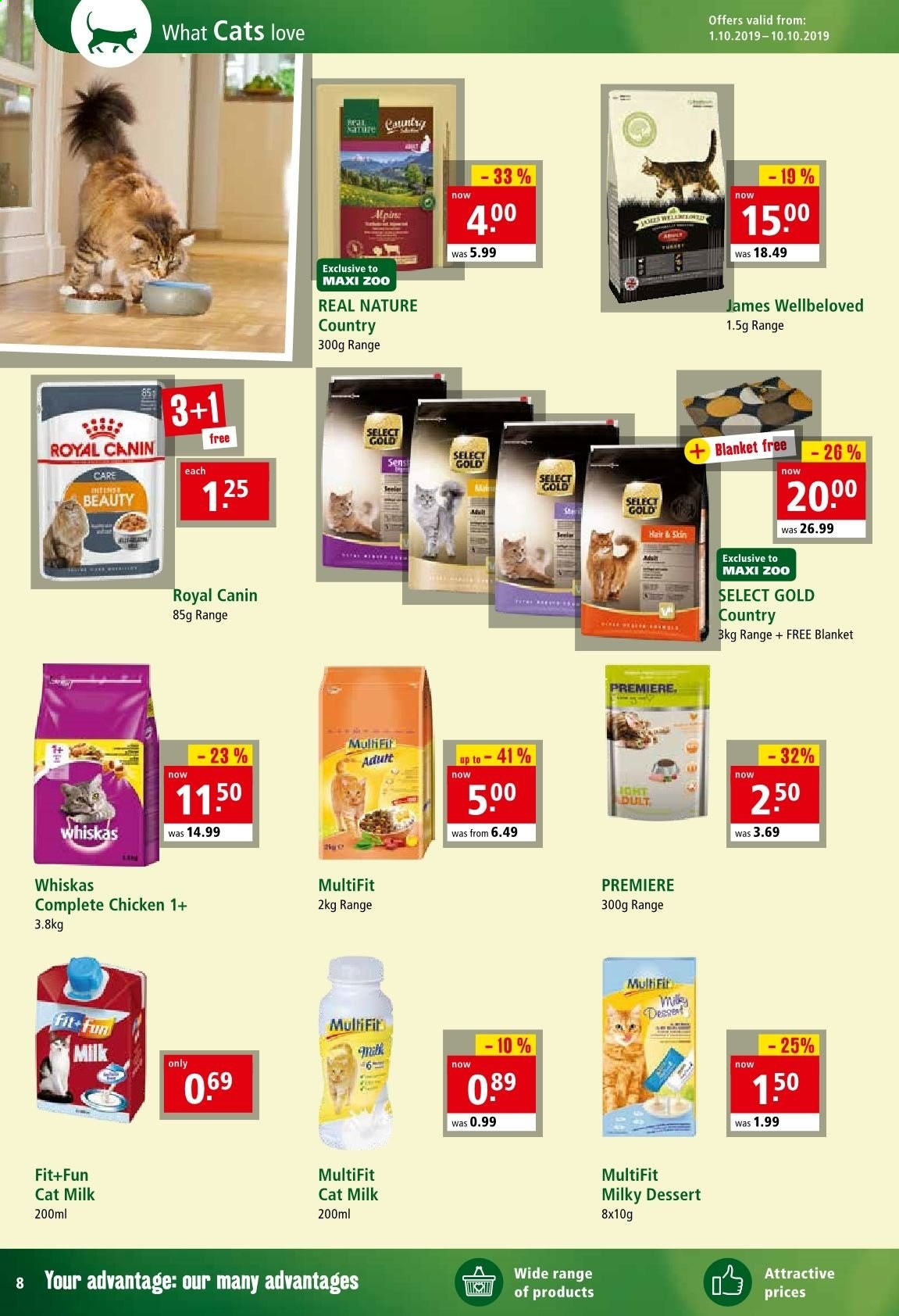 Maxi Zoo offer  - 1.10.2019 - 10.10.2019. Page 8.