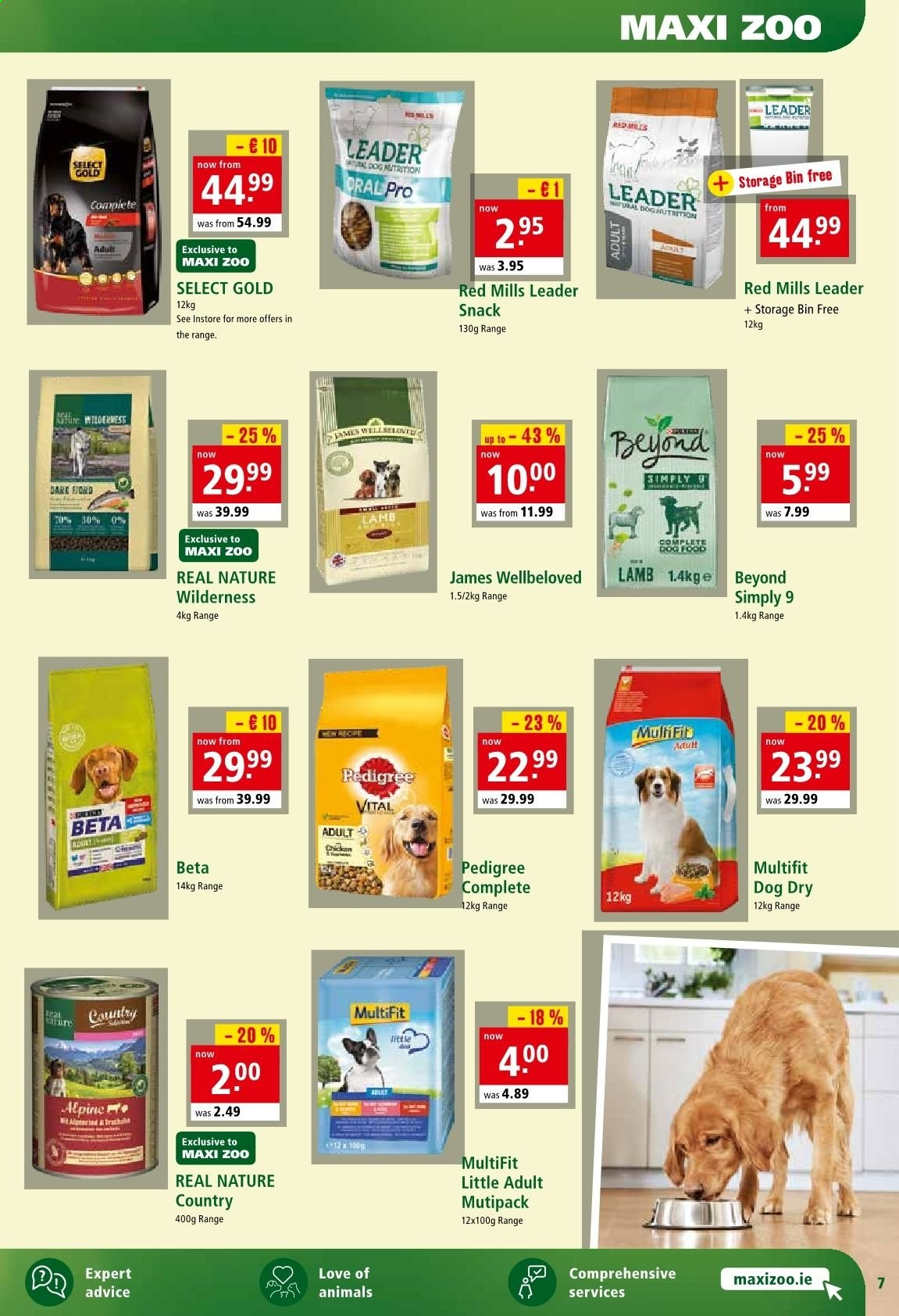 Maxi Zoo offer  - 1.11.2019 - 10.11.2019. Page 7.