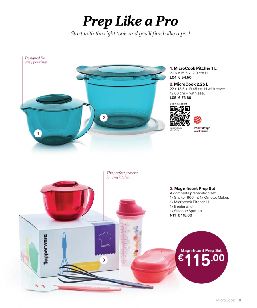 Tupperware offer  - 27.2.2018 - 31.8.2018. Page 9.