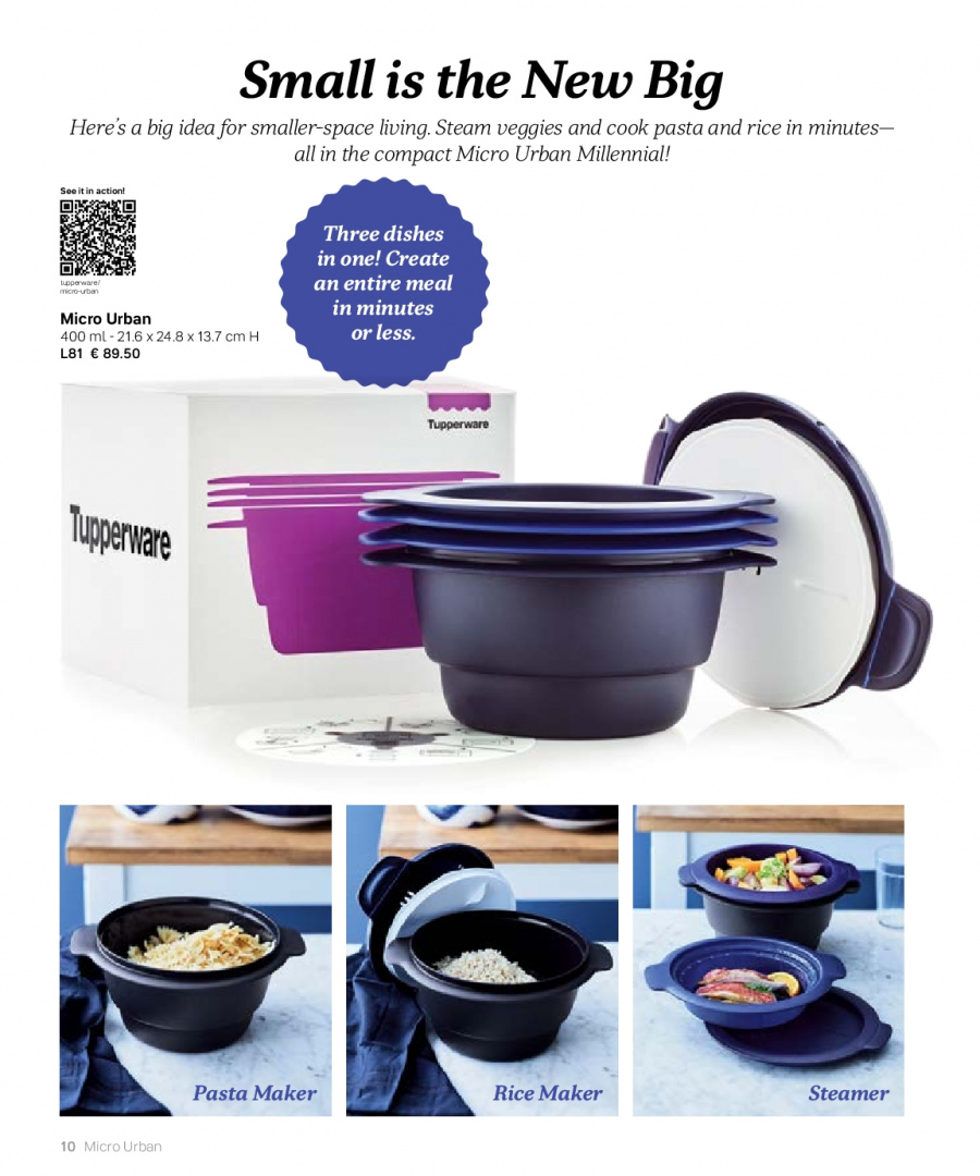 Tupperware offer  - 27.2.2018 - 31.8.2018. Page 10.