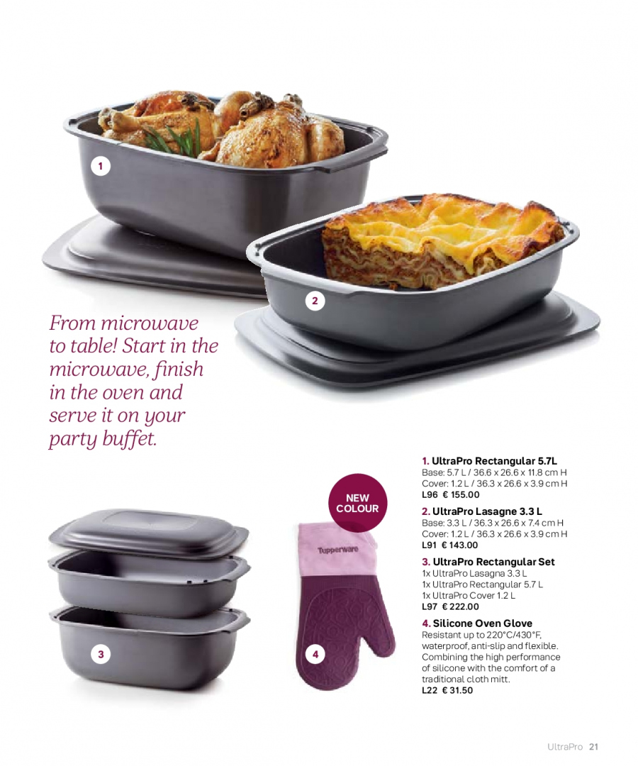 Tupperware offer  - 27.2.2018 - 31.8.2018. Page 21.