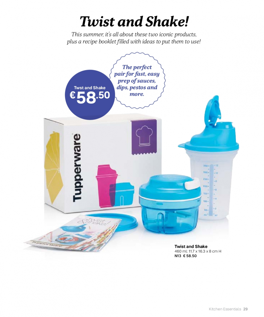 Tupperware offer  - 27.2.2018 - 31.8.2018. Page 29.