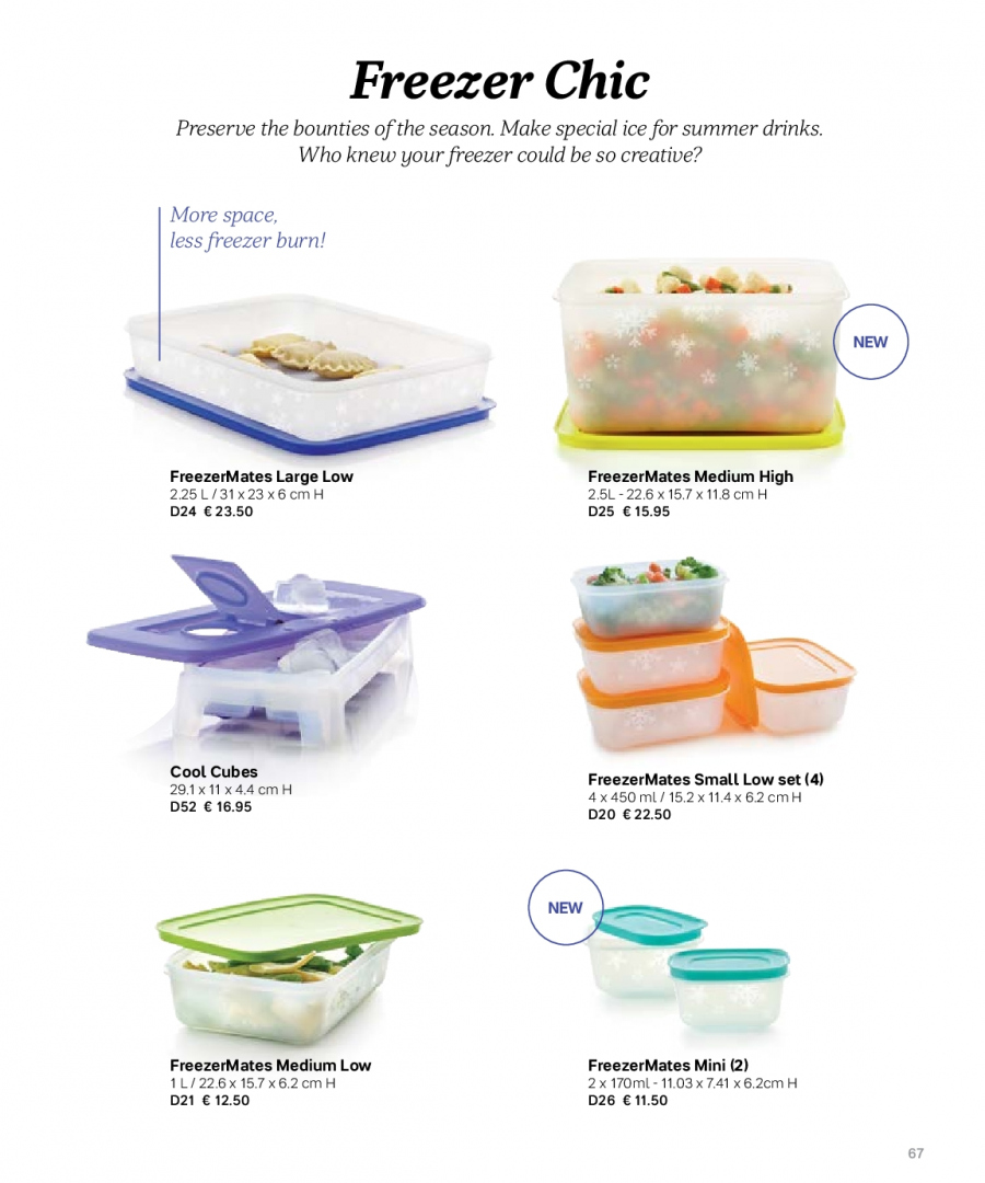 Tupperware offer  - 27.2.2018 - 31.8.2018. Page 67.