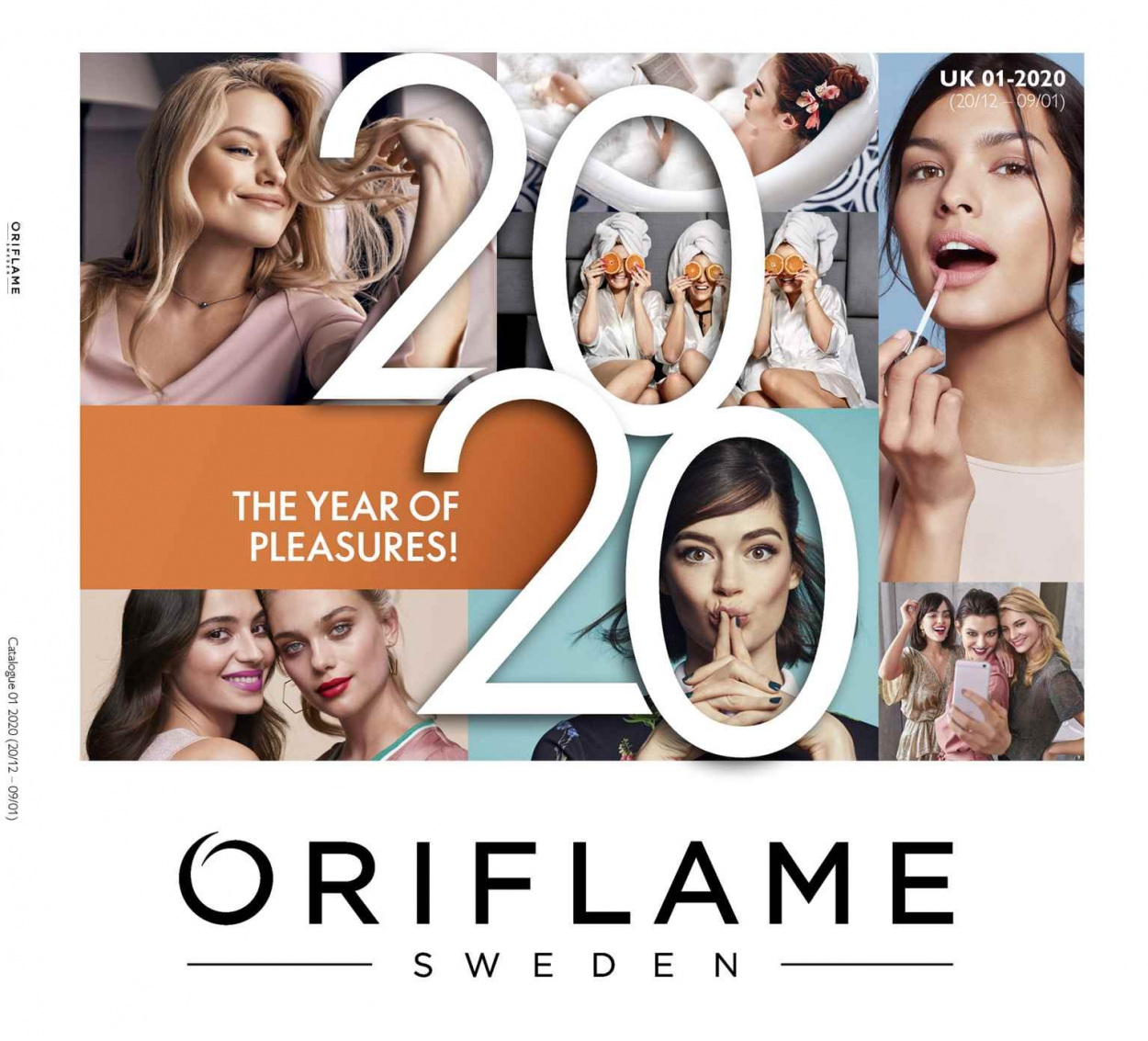 Oriflame offer  - 20.12.2019 - 9.1.2020. Page 1.