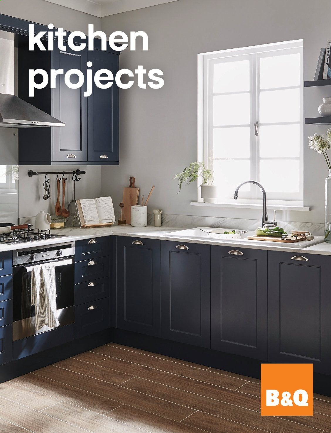 B&Q offer  - Sales products - kitchen. Page 1.