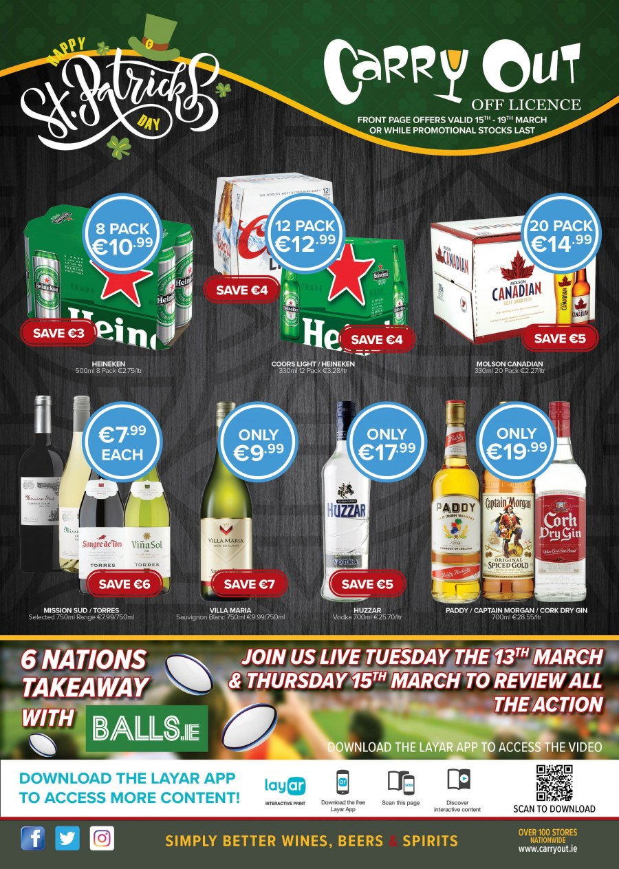 Carry Out offer  - 8.3.2018 - 18.4.2018. Page 1.
