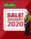Woodie's offer  - 2.1.2020 - 19.1.2020.