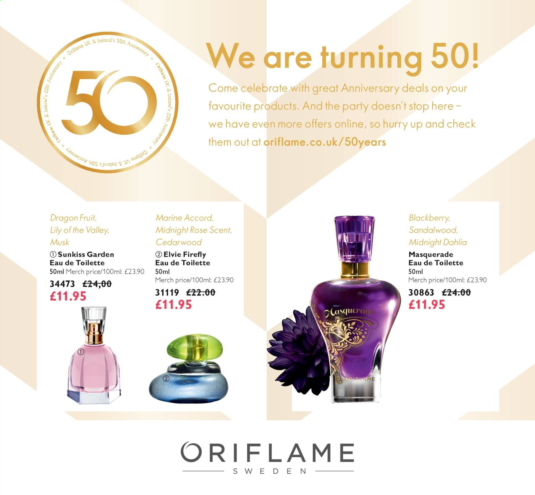 Oriflame offer  - 1.1.2020 - 31.1.2020. Page 1.
