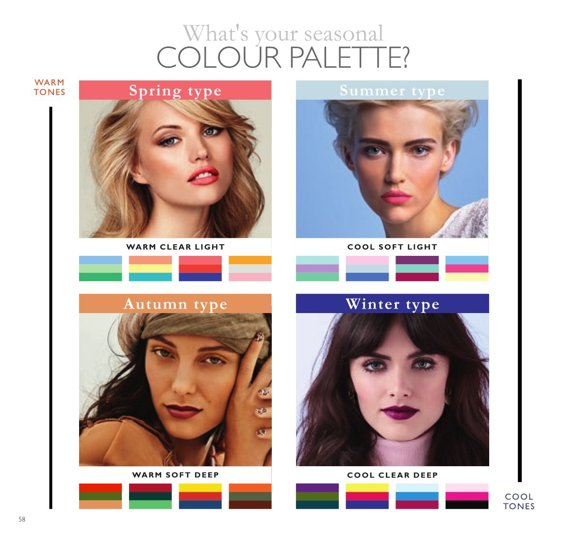 Oriflame offer  - 23.3.2018 - 12.4.2018 - Sales products - Palette. Page 58.