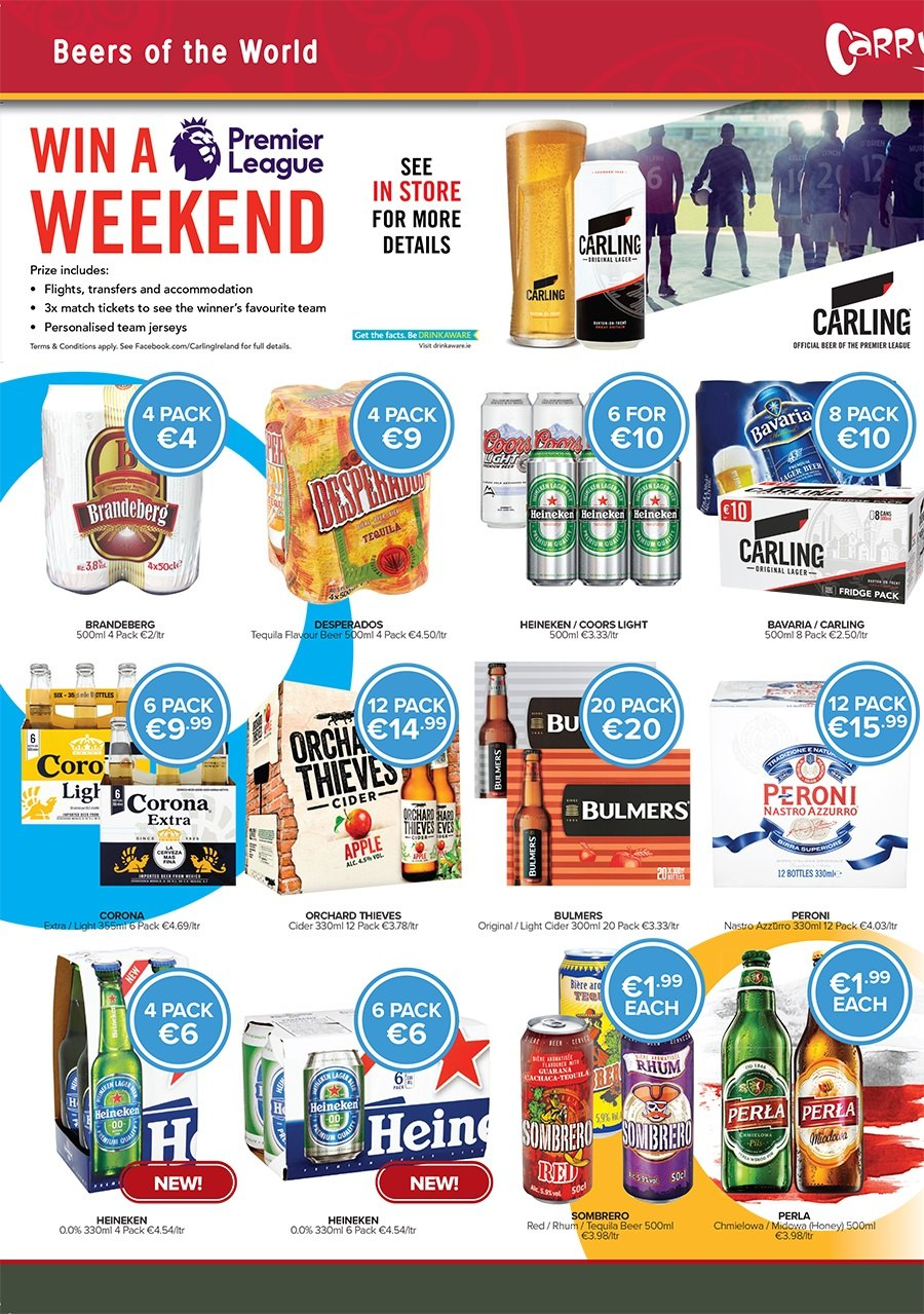Carry Out offer  - 29.3.2018 - 2.4.2018 - Sales products - beer, refrigerator, tequila. Page 4.