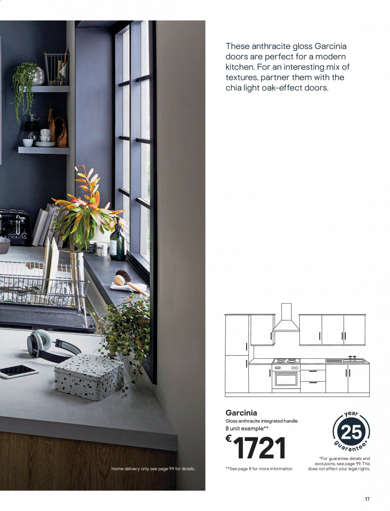 B&Q offer  - Sales products - door, handles, Kitchen. Page 17.