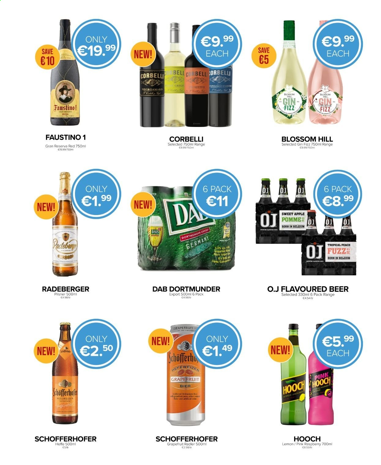 Carry Out offer  - Sales products - gin. Page 3.