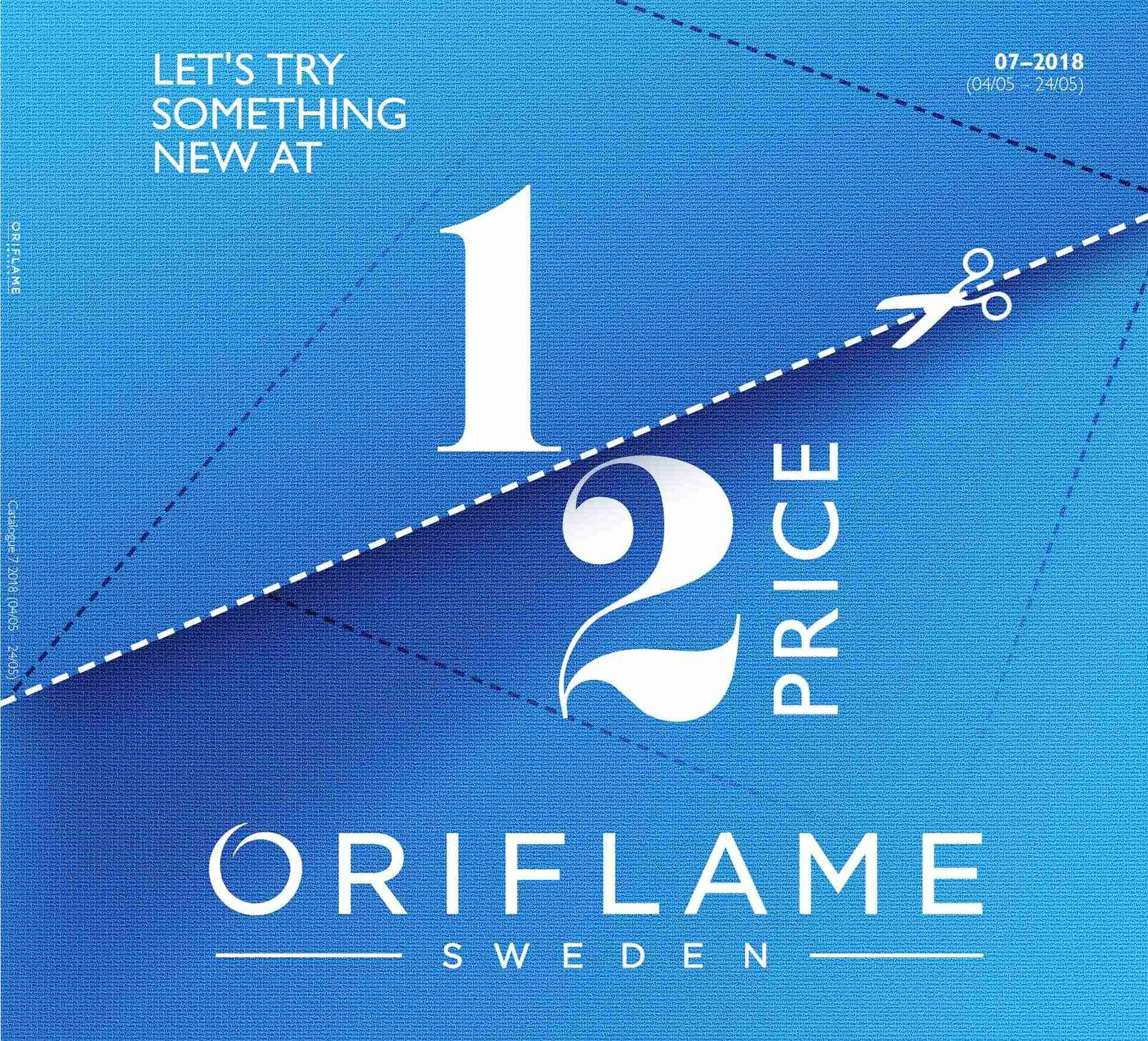 Oriflame offer  - 4.5.2018 - 24.5.2018. Page 1.