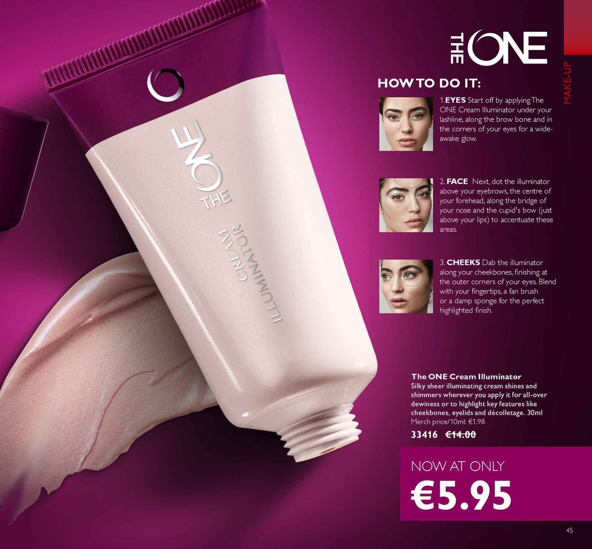Oriflame offer  - 4.5.2018 - 24.5.2018 - Sales products - sheer. Page 45.