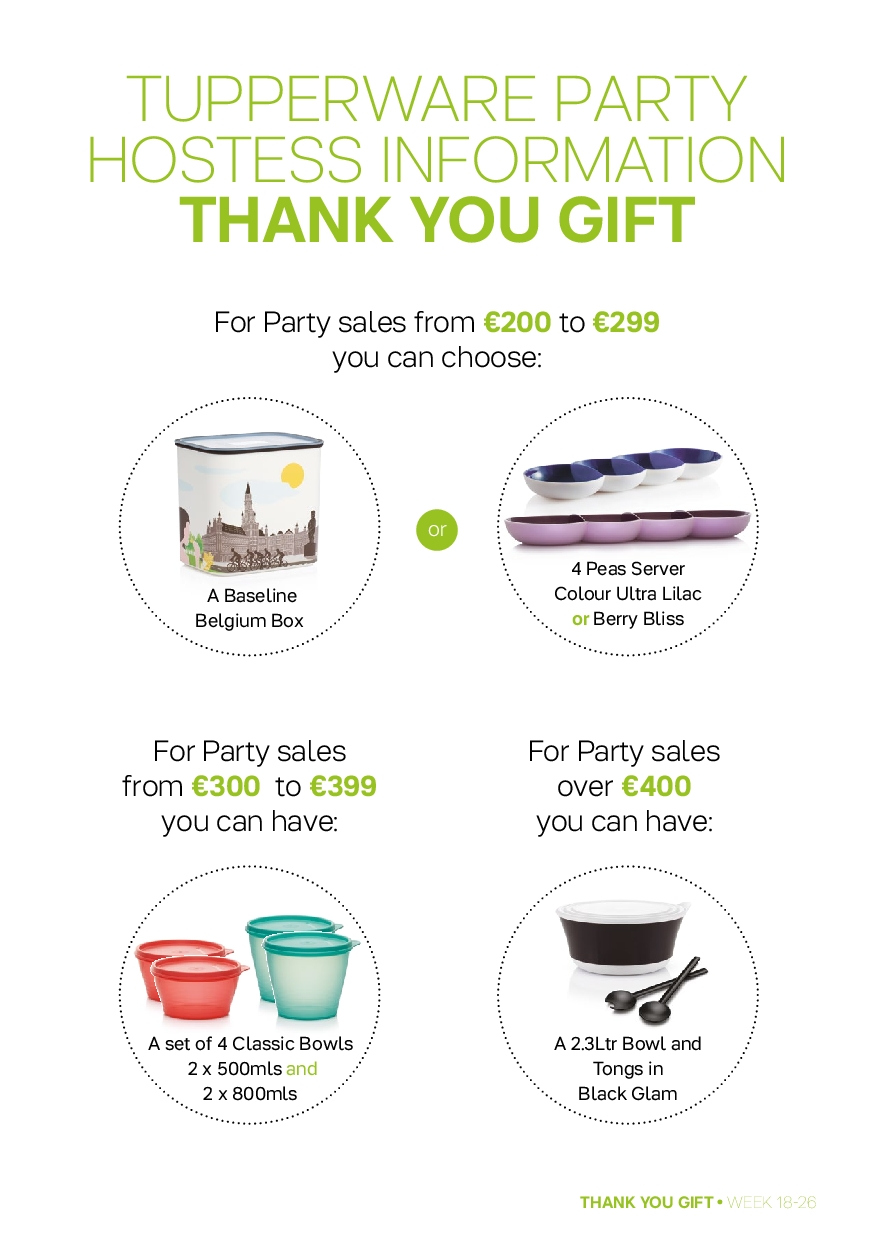Tupperware offer  - 30.4.2018 - 1.7.2018 - Sales products - bowl. Page 9.
