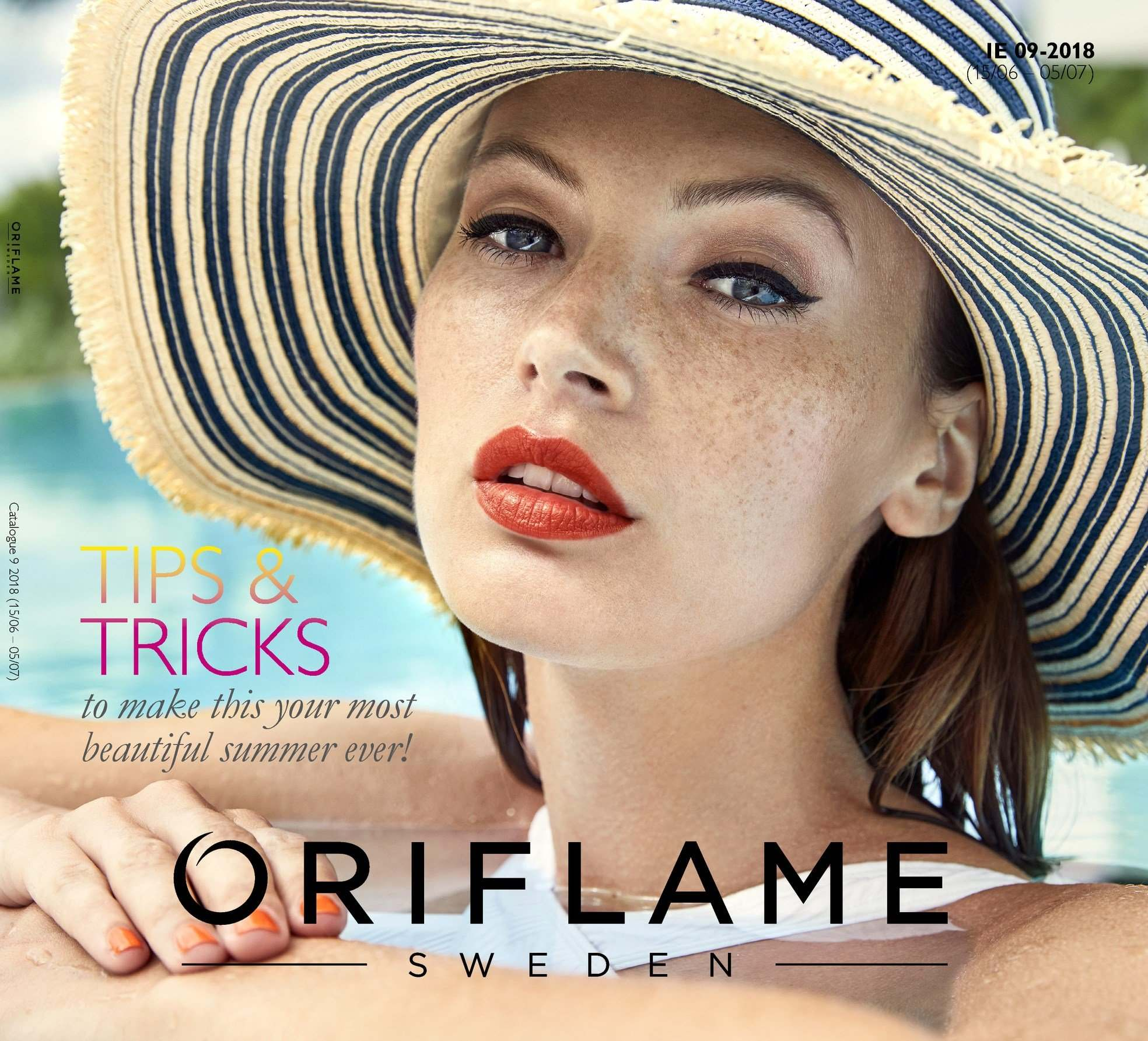Oriflame offer  - 15.6.2018 - 5.7.2018. Page 1.