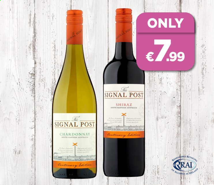 EUROSPAR offer  - Sales products - chardonnay. Page 3.