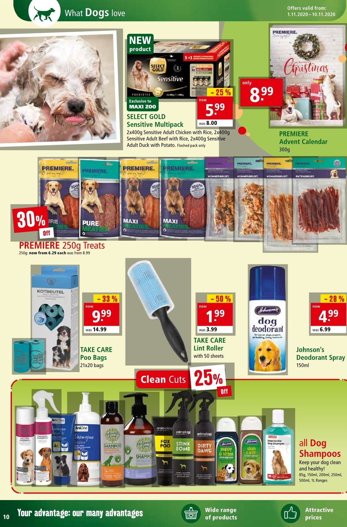 Maxi Zoo offer  - 1.11.2020 - 10.11.2020. Page 10.
