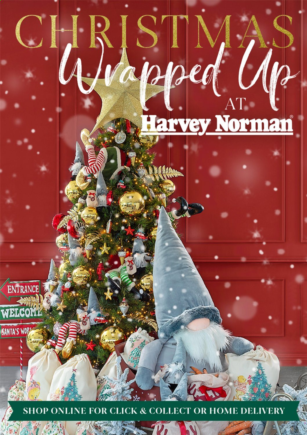Harvey Norman offer  - Sales products - santa. Page 1.