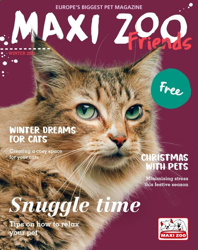 Maxi Zoo offer . Page 1.