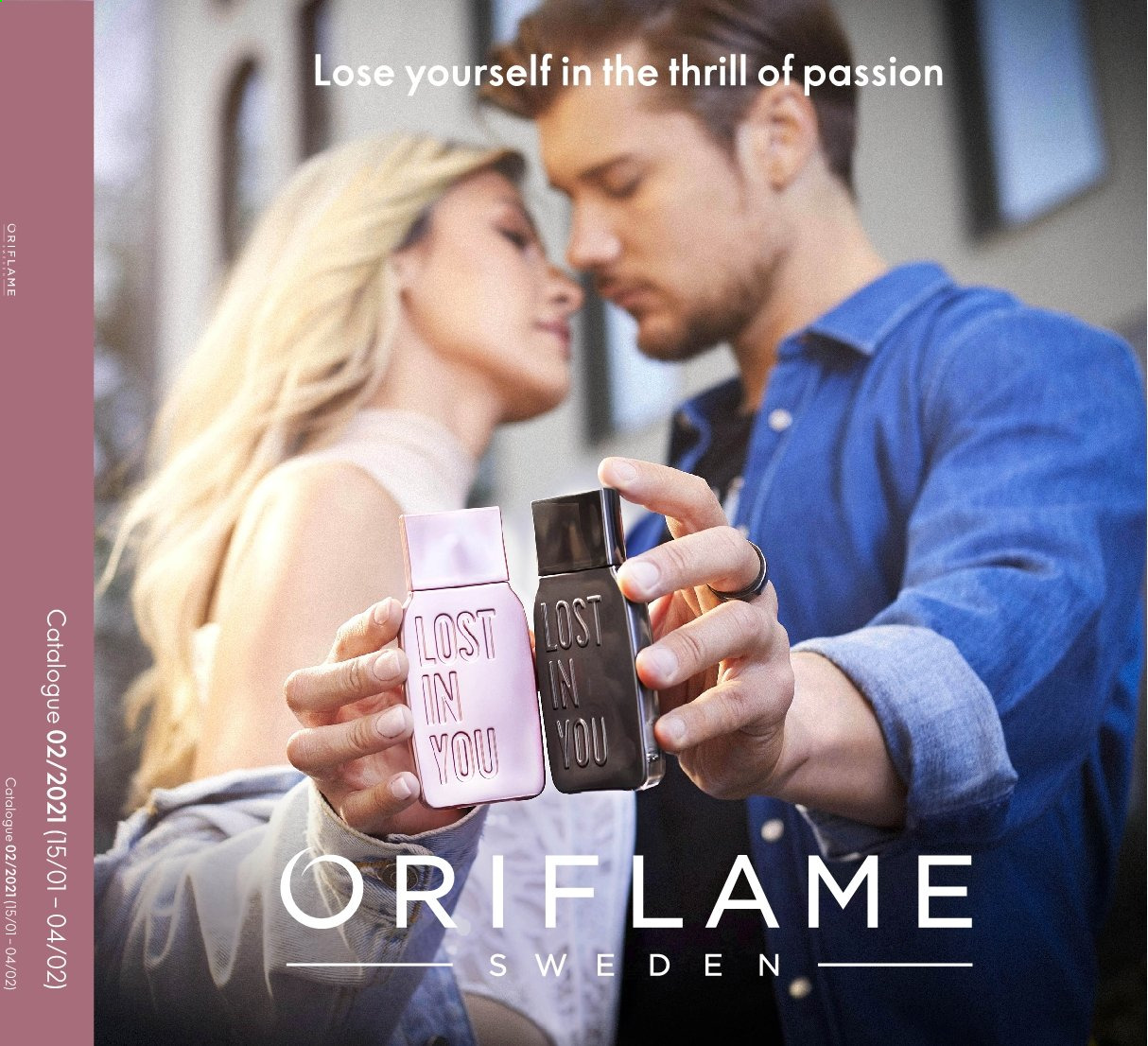 Oriflame offer  - 15.1.2021 - 4.2.2021. Page 1.