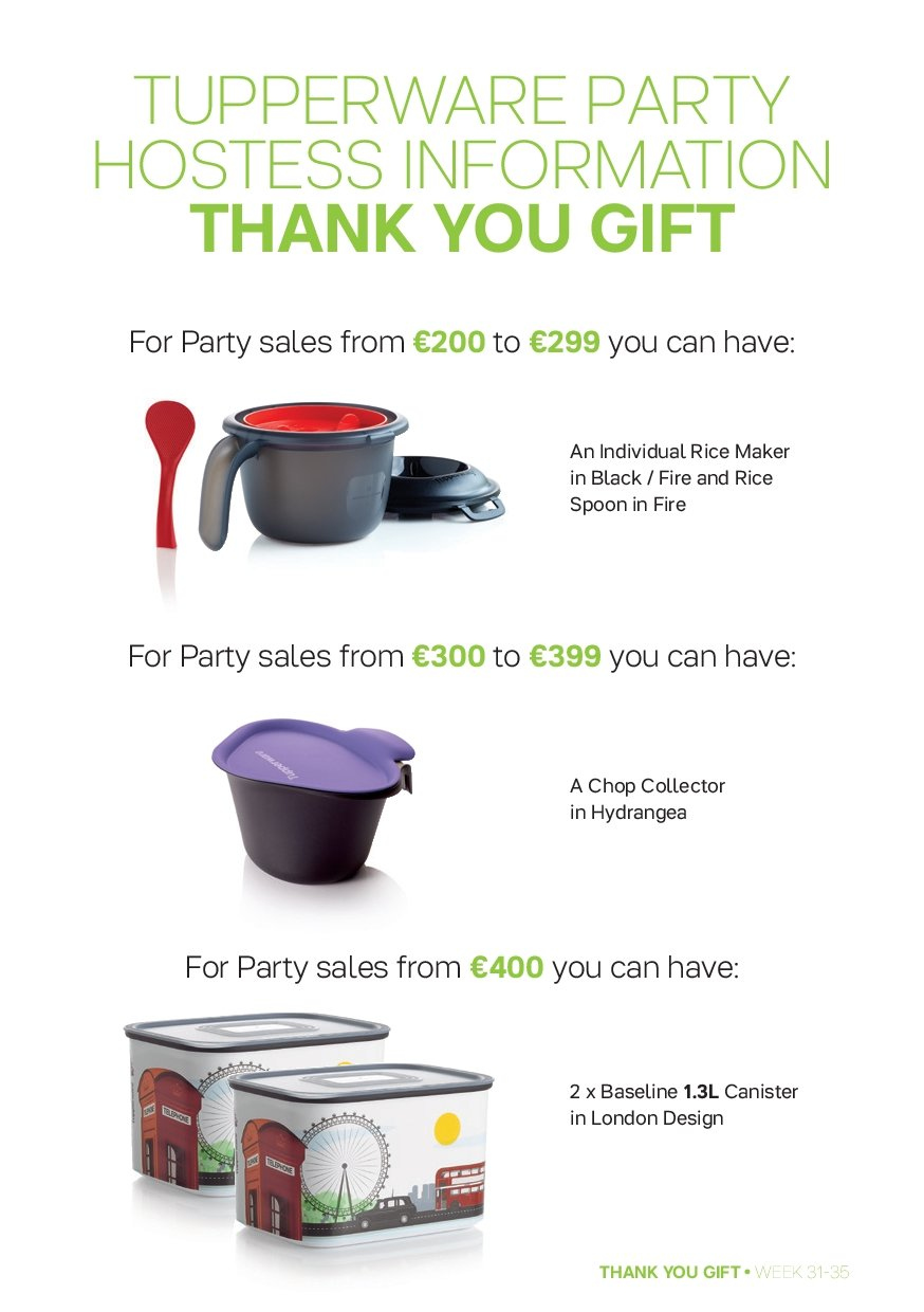 Tupperware offer  - 30.7.2018 - 2.9.2018 - Sales products - spoon, canister. Page 13.