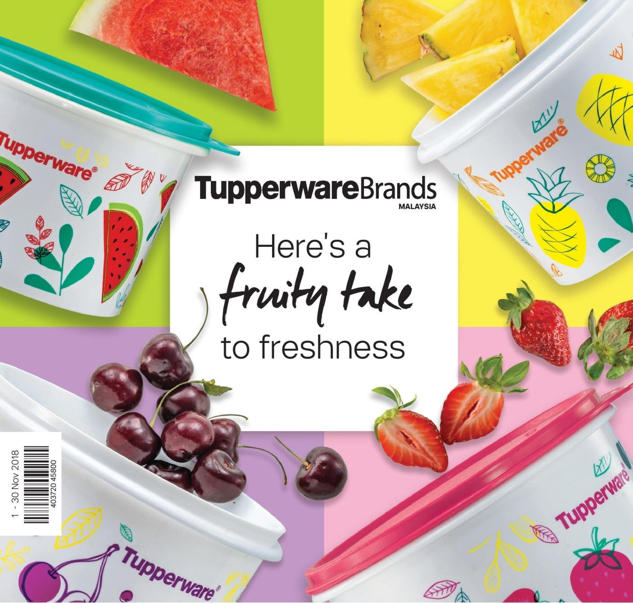Iklan TupperwareBrands - 01.11.2018 - 30.11.2018. Halaman 1.